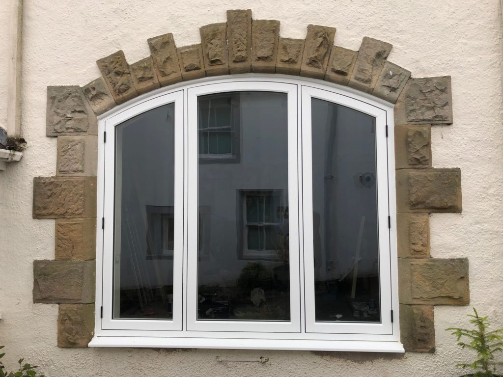 Arched R9 Window Installation