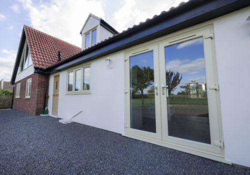 2800 French Doors External Cream