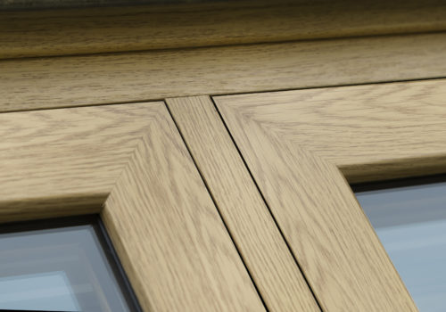Infinity Flush Joint Close Up English Oak
